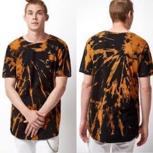 Urban Outfitters Crew Neck Bleached T Shirt